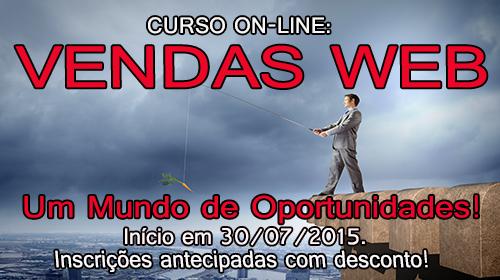VENDAS WEB – Um Mundo de oportunidades!
