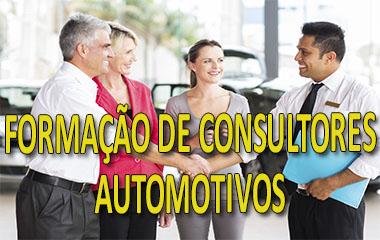 FORMAÇÃO DE CONSULTORES AUTOMOTIVOS